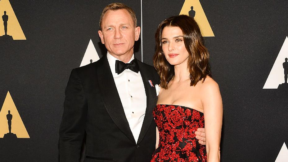Daniel Craig and Rachel Weisz - 2015 Oscars - Getty - H 2018
