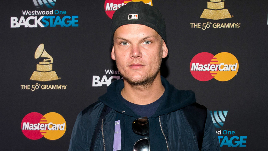 Avicii - 2016 MasterCard and Westwood One Backstage Lounge - Getty - H 2018