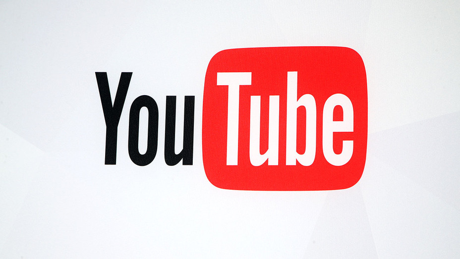 The YouTube logo -YouTube booth at the Licensing Expo 2016 - Getty-H 2018