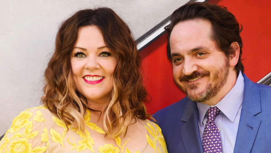 Melissa McCarthy and Ben Falcone - Ghostbusters Premiere - Getty - H 2018