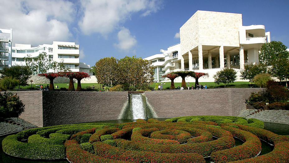 The J. Paul Getty Museum -The Central Garden of the Getty Center - Getty -H 2018
