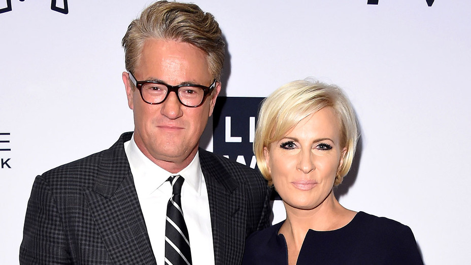 Joe Scarborough and Mika Brzezinski attend the Daily Front Row's Fashion Media Awards - Getty-H 2018