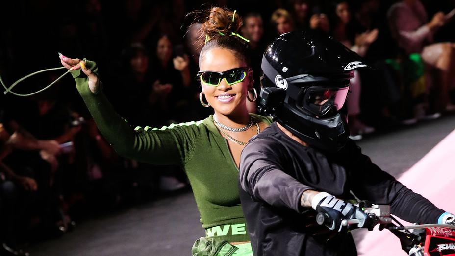 Rihanna Fenty Puma 2017 New York Fashion Week - Getty - H 2018