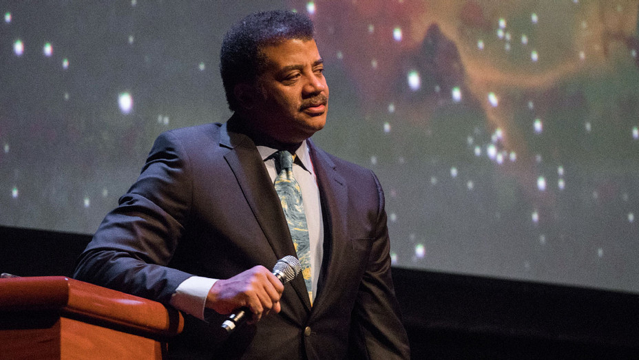 Neil deGrasse Tyson - 2018 Cosmic Collissions Lecture - Getty - H 2018