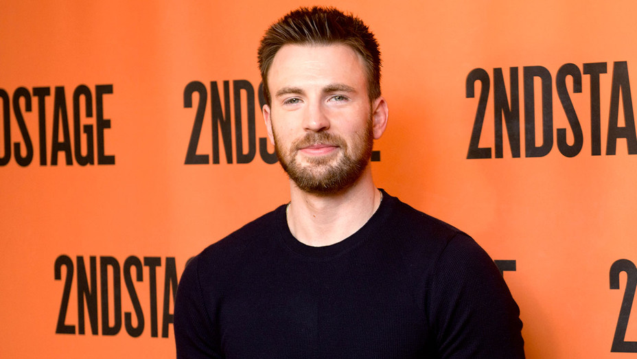 Chris Evans attends the Lobby Hero cast meet and greet - Getty-H 2018