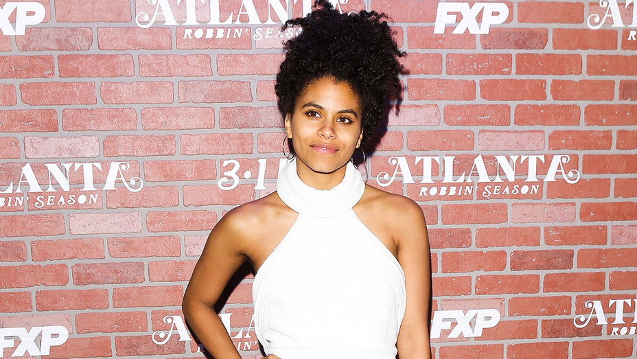 Zazie Beetz - 2018 Atlanta Robbin' Season Premiere - Getty - H 2018