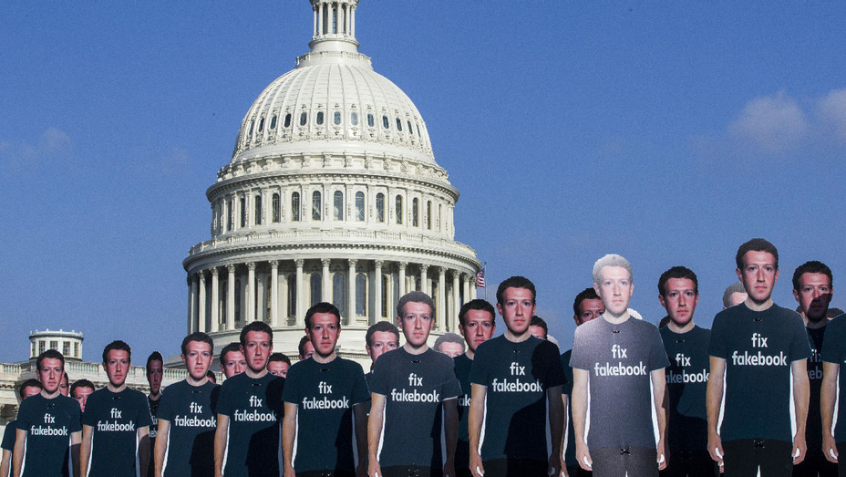 Mark Zuckerberg Cutouts Capitol - Getty - H 2018