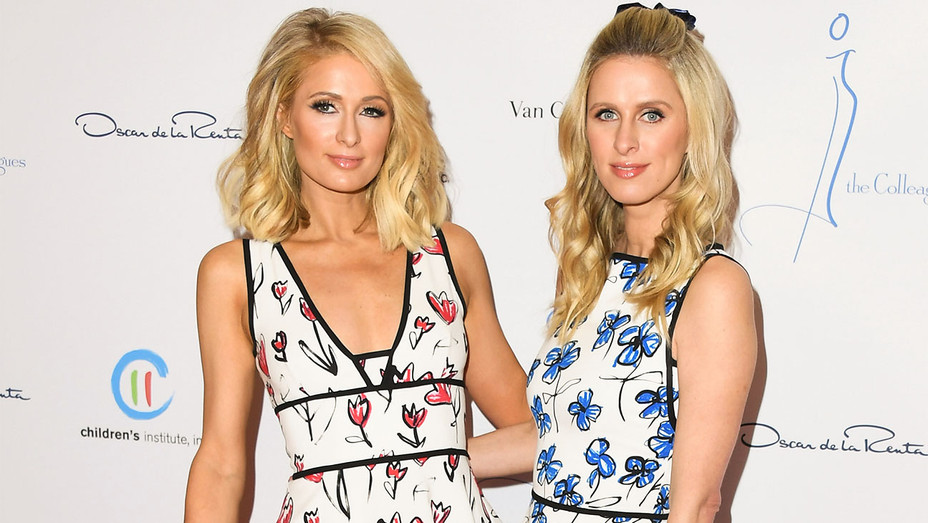 Paris Hilton and Nicky Hilton - The Colleagues and Oscar de la Renta Annual Spring Luncheon - Getty - H 2018