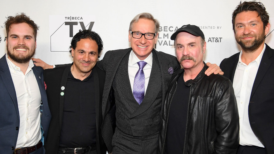 Brent Hodge, Gabe Sachs, Paul Feig, Steve Bannos and Matthew Galkin - Getty - H 2018