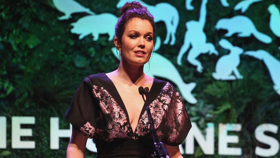 Bellamy Young - The Humane Society of the United States to the Rescue - Getty - H 2018