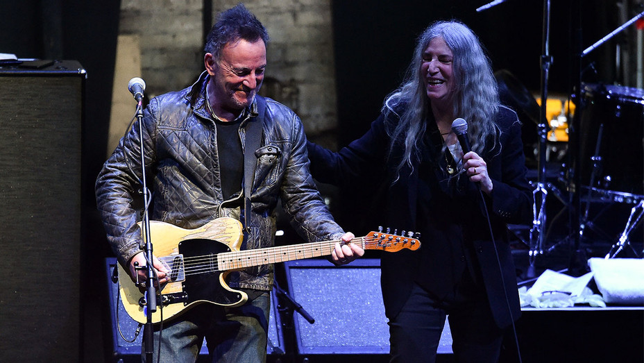 Bruce Springsteen and Patti Smith - 2018 Tribeca Film Festival - Getty - H 2018