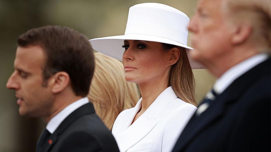 Melania Trump White Hat April 24 2018 - Getty - H 2018
