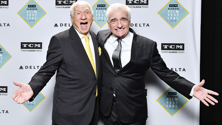 50th anniversary of The Producers - Mel Brooks and Martin Scorsese - Getty-H 2018