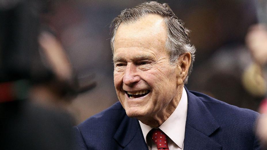 George HW Bush 2010 - Getty - H 2018
