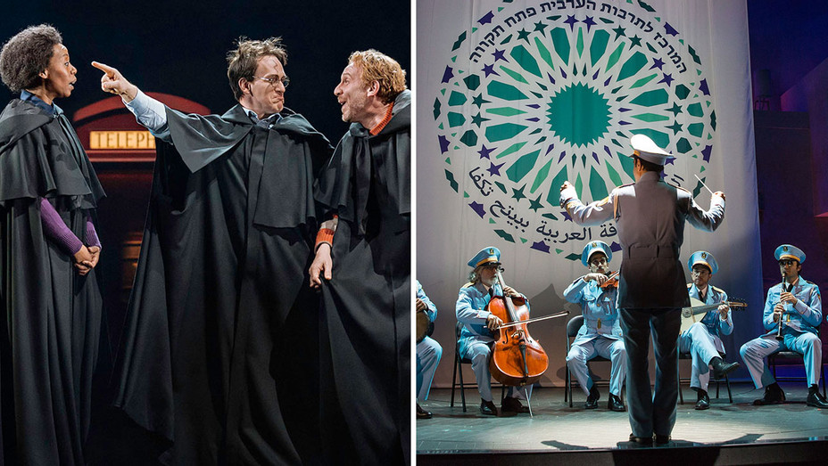 Harry Potter and the Cursed Child_The Band's Visit_Split - Publicity - H 2018