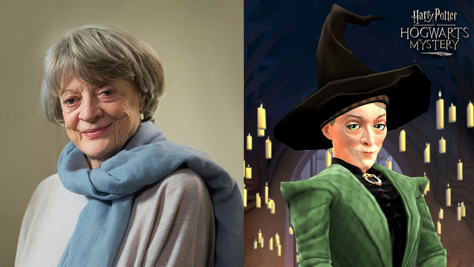 Harry Potter Hogwarts Mystery_Maggie Smith - Publicity - H 2018