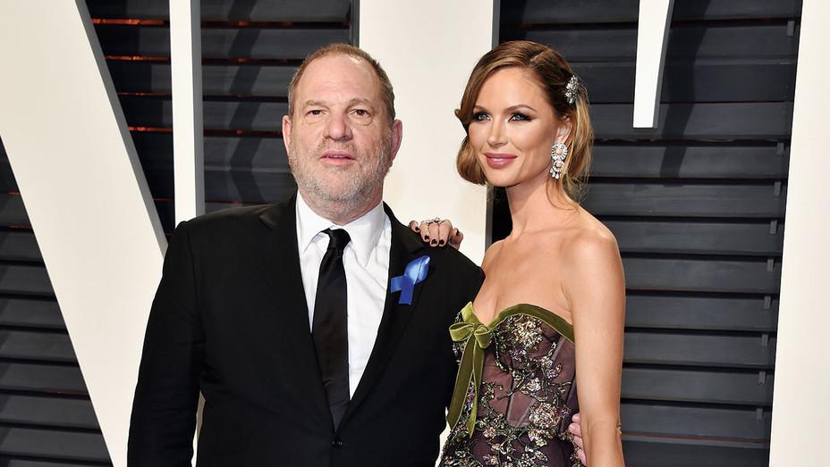 Harvey Weinstein_Georgina Chapman - Getty - H 2018