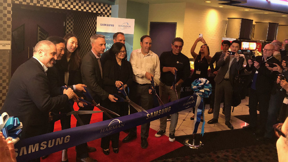 Samsung LED Cinema Screen Opening at Pacific Theatres Winnetka - Publicity - H 2018