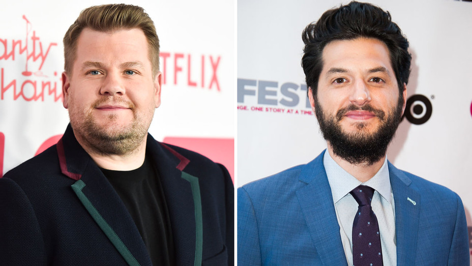 James Corden and Ben Schwartz - Split - Getty - H 2018