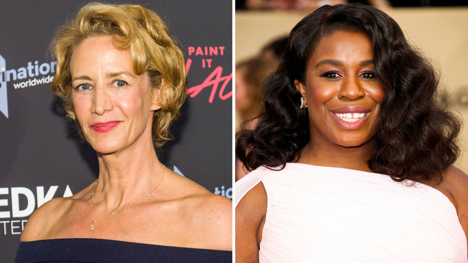 Janet McTeer and Uzo Aduba - Split - Getty - H 2018