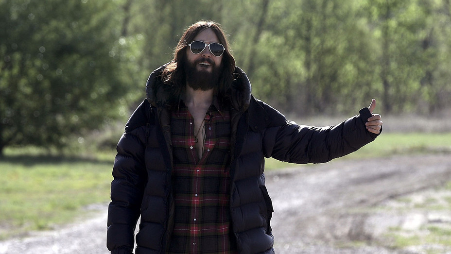 Jared Leto Hitchhiking - Getty - H 2018