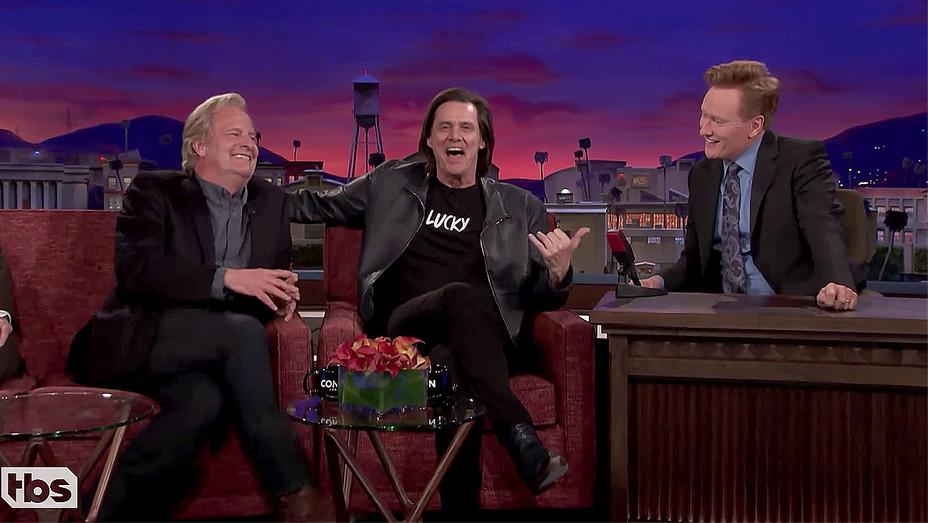 Jim Carrey Crashes Jeff Daniels' CONAN Interview - CONAN on TBS Screen shot-H 2018