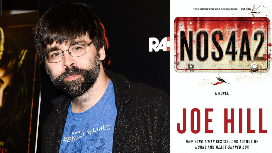 Joe Hill and NOS4A2 Cover - Split - Getty - H 2018