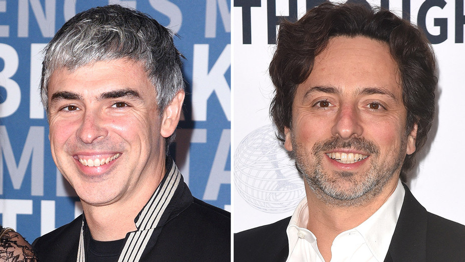 Larry Page and Sergey Brin_Split - Getty - H 2018