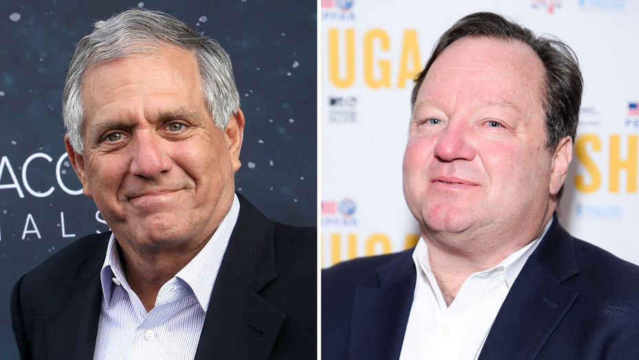 Leslie Moonves and Bob Bakish_Split - Getty - H 2018