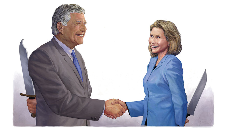 Leslie Moonves_Shari?Redstone_Illo - THR - H 2018
