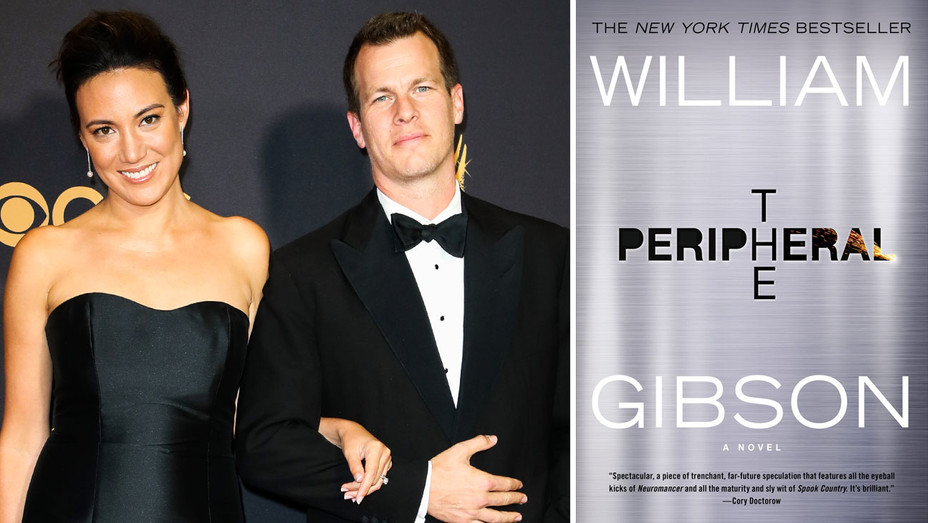 Lisa Joy and Jonathan Nolan and The Peripheral - Split - Getty - H 2018