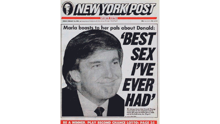 """The Real Story Behind Donald Trump's Infamous """"Best Sex I've Ever Had"""" Headline (Guest Column)"""