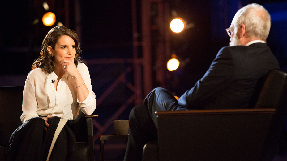 Tina Fey and David Letterman Improv a Scene in Netflix's My Next Guest 2- Publicity-H 2018