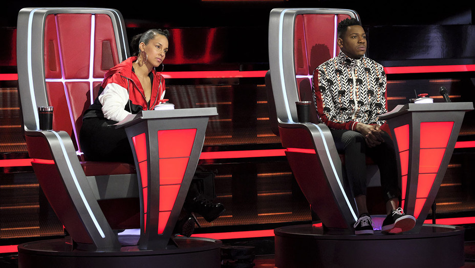 THE VOICE - Knockout Reality - Alicia Keys, Chris Blue - Publicity-H 2018