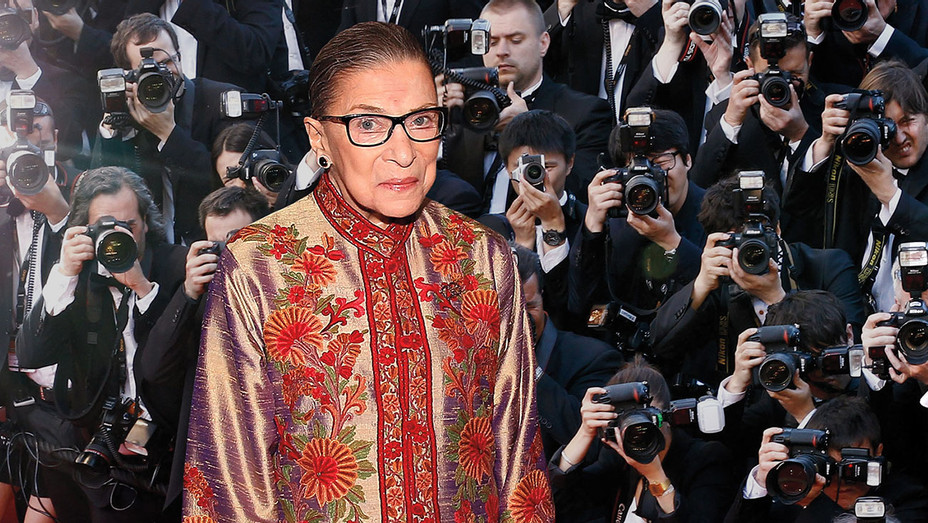 Ruth Bader Ginsburg Films Cameo In Biopic Hollywood Reporter