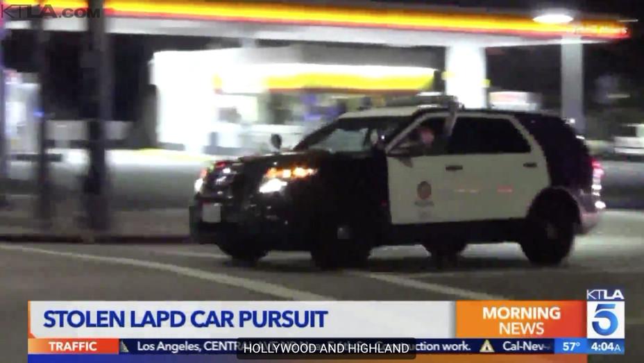 LAPD Stolen Police Car -H 2018