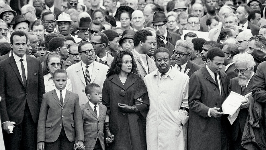 Silent march memorial to Dr. Martin Luther King_ONE TIME USE - Getty - H 2018