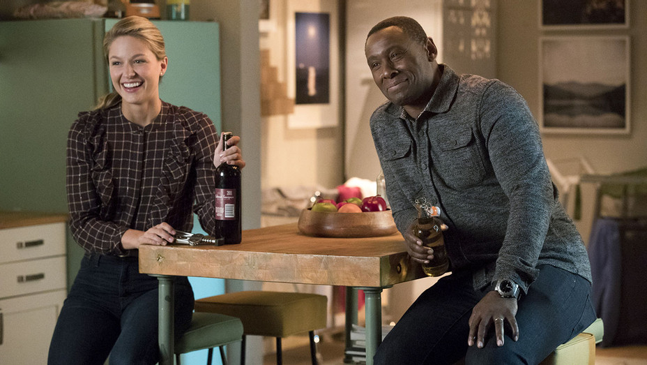 "Supergirl -- ""In Search of Lost Time"" -Melissa Benoist  and David Harewood- Publicity-H 2018"