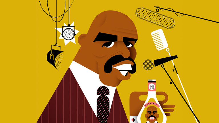Steve Harvey on Returning to Stand-Up, Ambitious TV Plans and (Why Not?) Launching an Organic Food Empire
