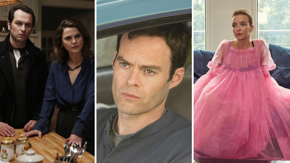 The Americans, Barry and Killing Eve - Publicity - H Split 2018