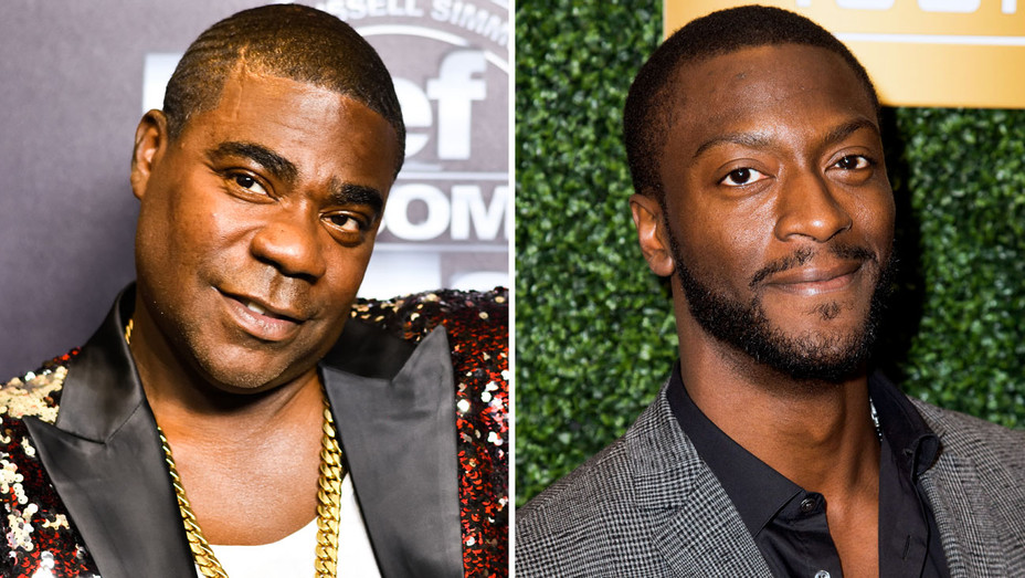 Tracy Morgan and Aldis Hodge - Split - Getty - H 2018