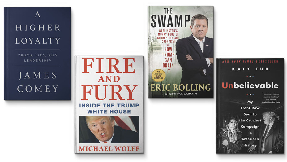 Trump Book Deals - Publicity - H 2018