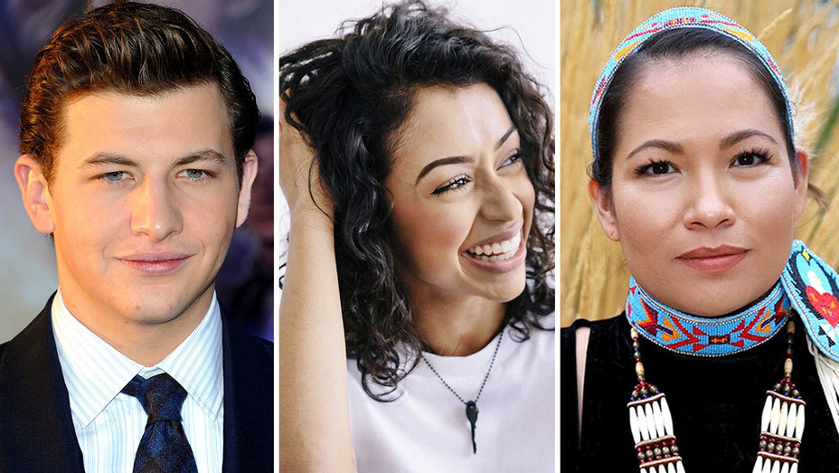 Tye Sheridan, Liza Koshy, Sarah Eagle Heart-Split Getty-H 2018