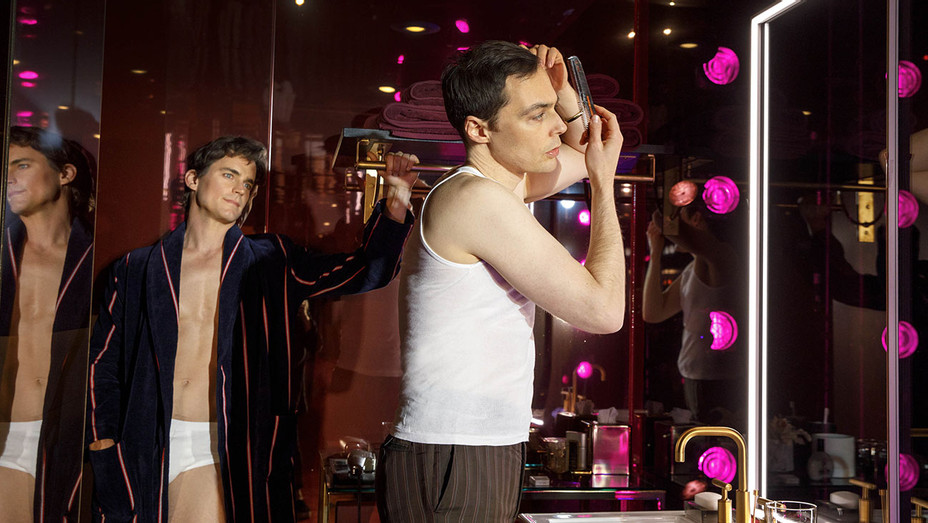 THE BOYS IN THE BAND - Production Still 1 Matt Bomer and Jim Parsons- Publicity-H 2018