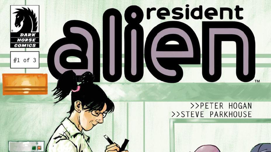 Resident Alien 1 Comic Cover - Publicity - P 2018