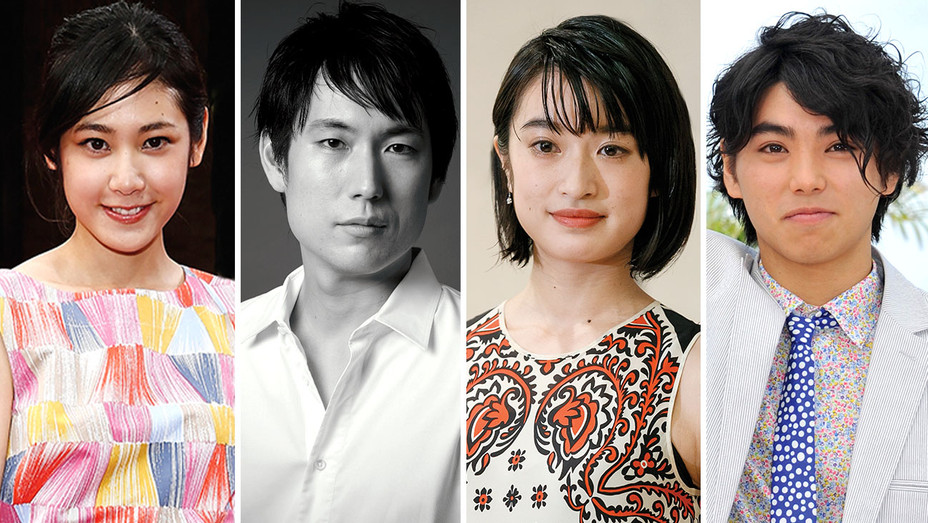 4 Japanese Acting Talents Ready to Go Global-Split-H 2018