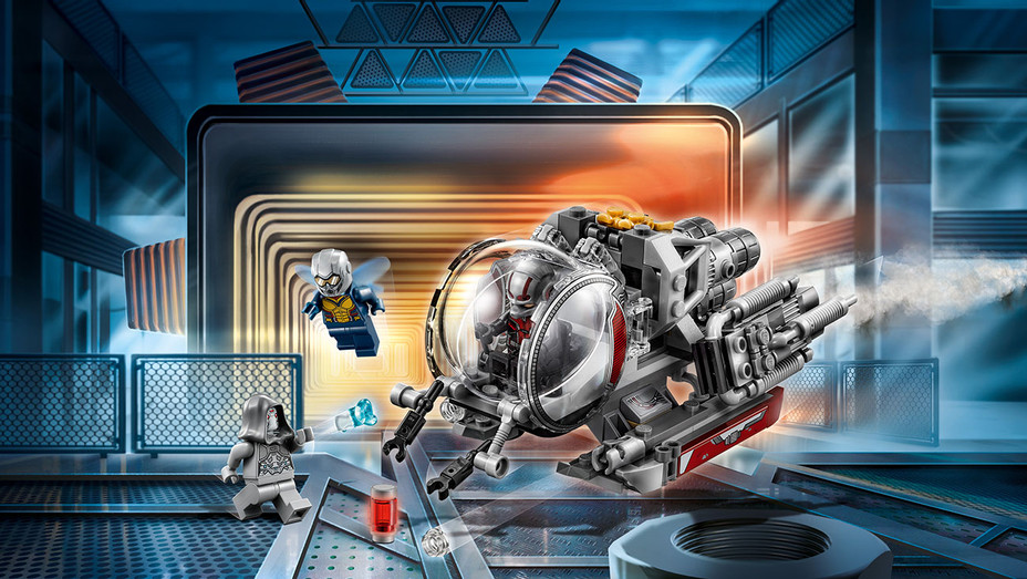 Ant-Man Legos - Publicity - H 2018