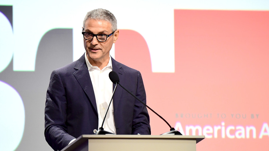 Ari Emanuel at  Los Angeles LGBT Center's 48th Anniversary Gala Vanguard Awards - Getty - H 2018