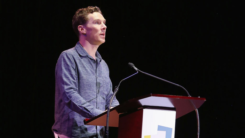 Benedict Cumberbatch Letters Live NYC - H 2018 Getty
