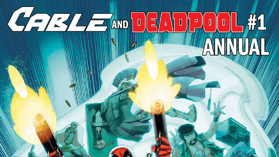 Cable and Deadpool Annual Cover 1 - Publicity - P 2018
